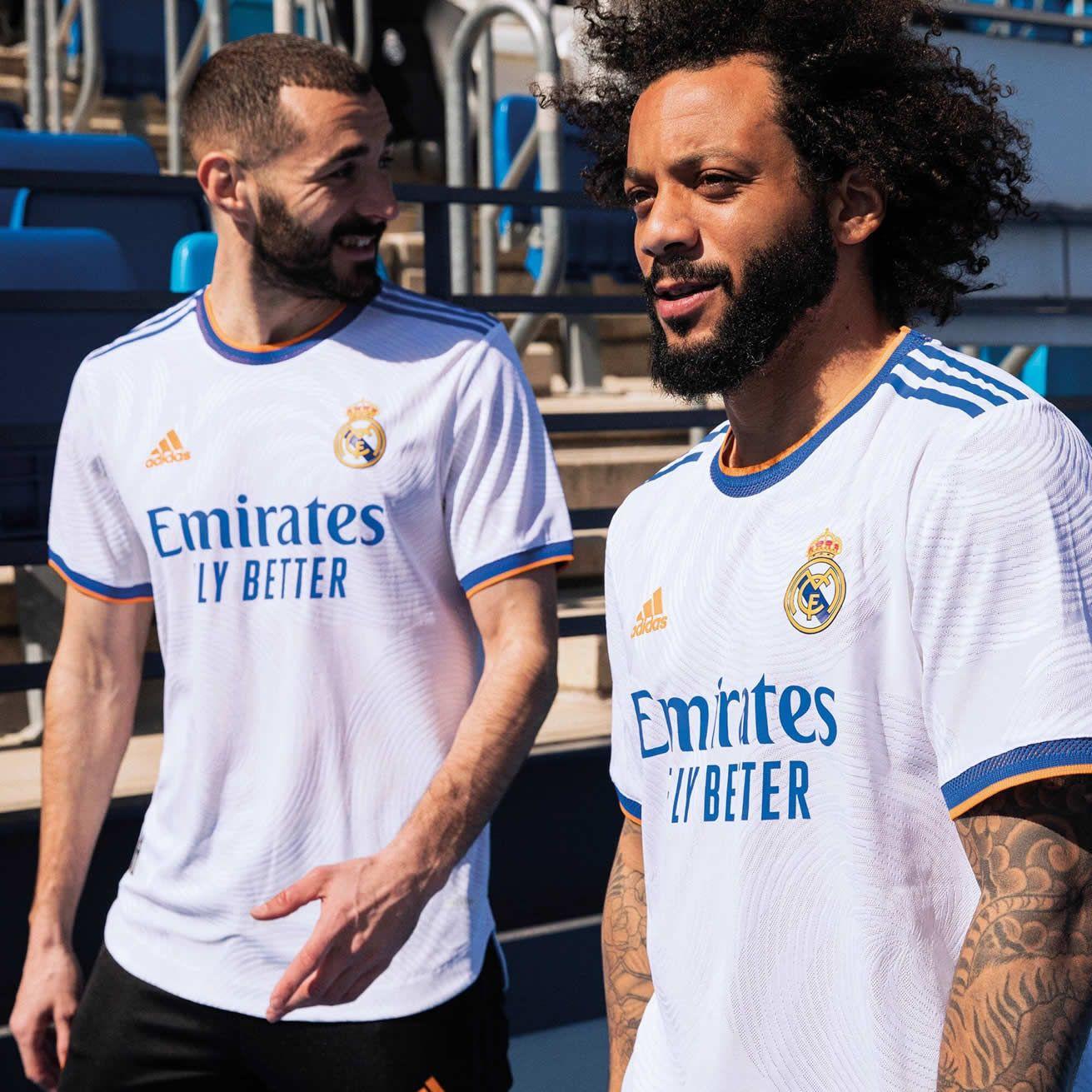 Camiseta titular del Real Madrid 2021/22 | Imagen adidas