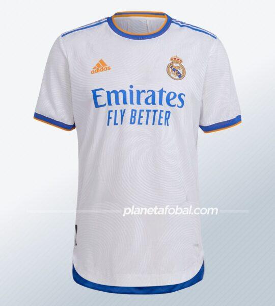 Camiseta del Real Madrid 2021/2022 | Imagen adidas