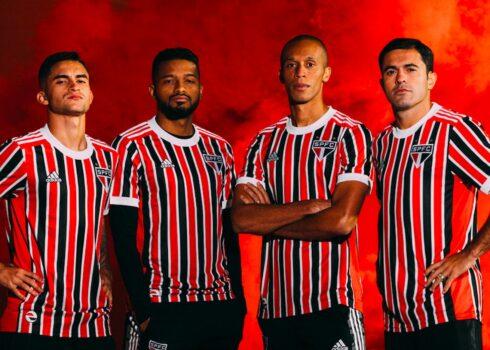 Camiseta suplente adidas del São Paulo FC 2021/22