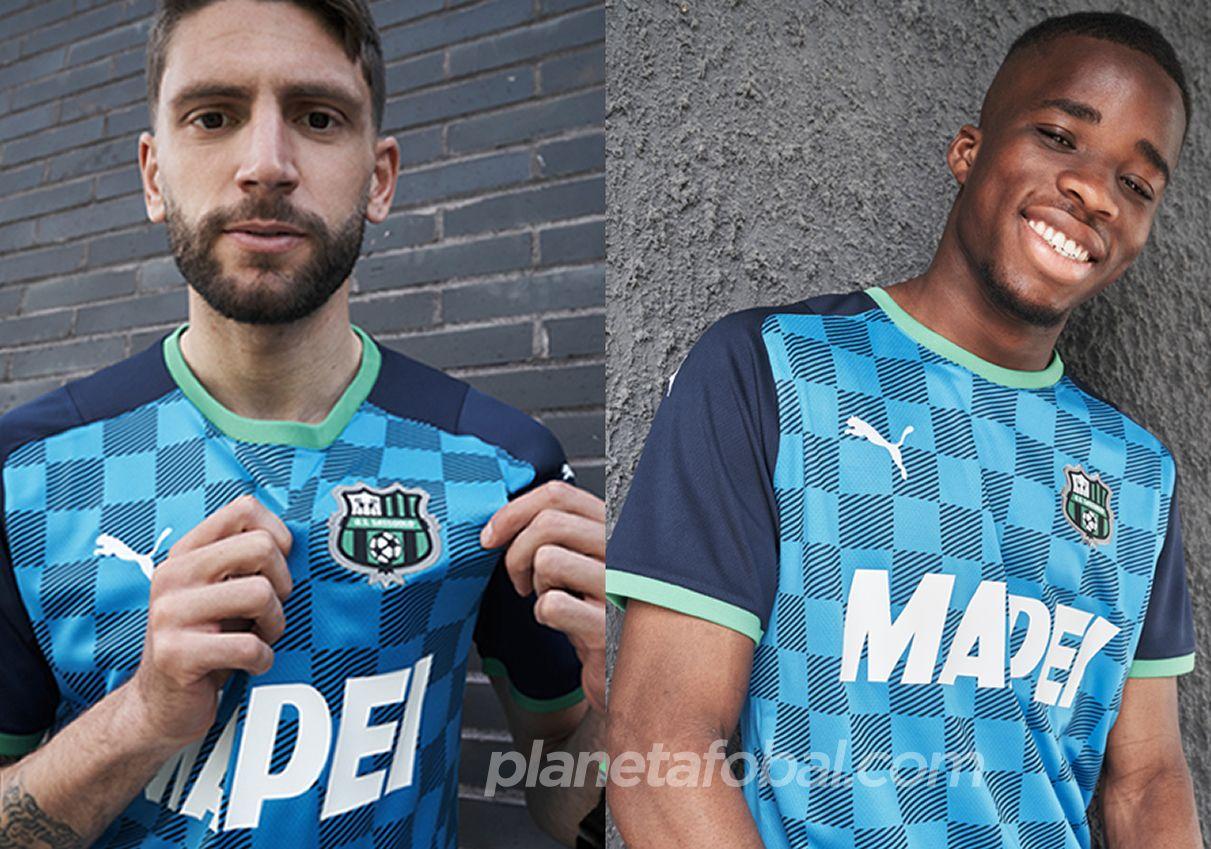 Tercera camiseta Puma del Sassuolo 2021/22