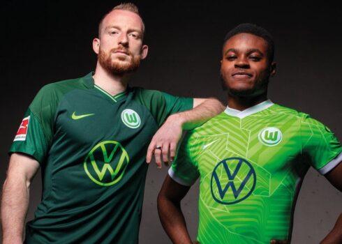 Camisetas Nike del VfL Wolfsburg 2021/2022