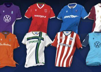 Camisetas de la Canadian Premier League 2021
