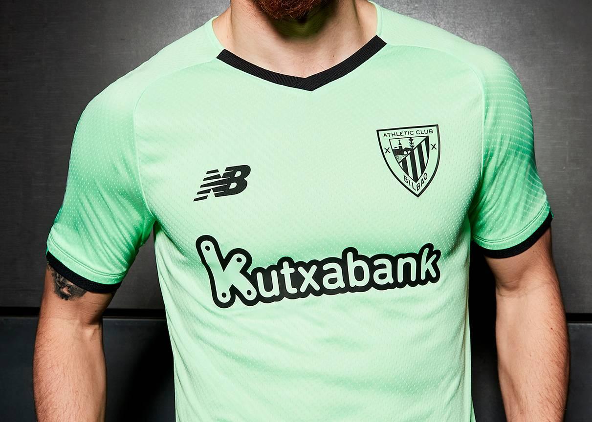 Camiseta suplente New Balance del Athletic Bilbao 2021/22