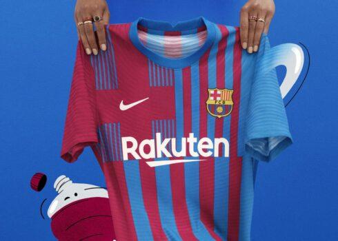 Equipación local Nike del Barcelona 2021/2022