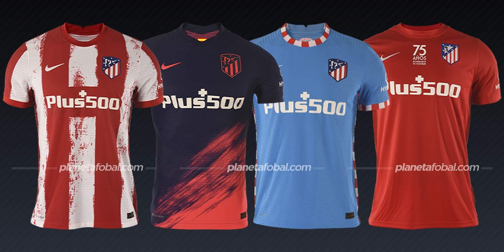 Atlético de Madrid (Nike)   Camisetas de LaLiga 2021/2022