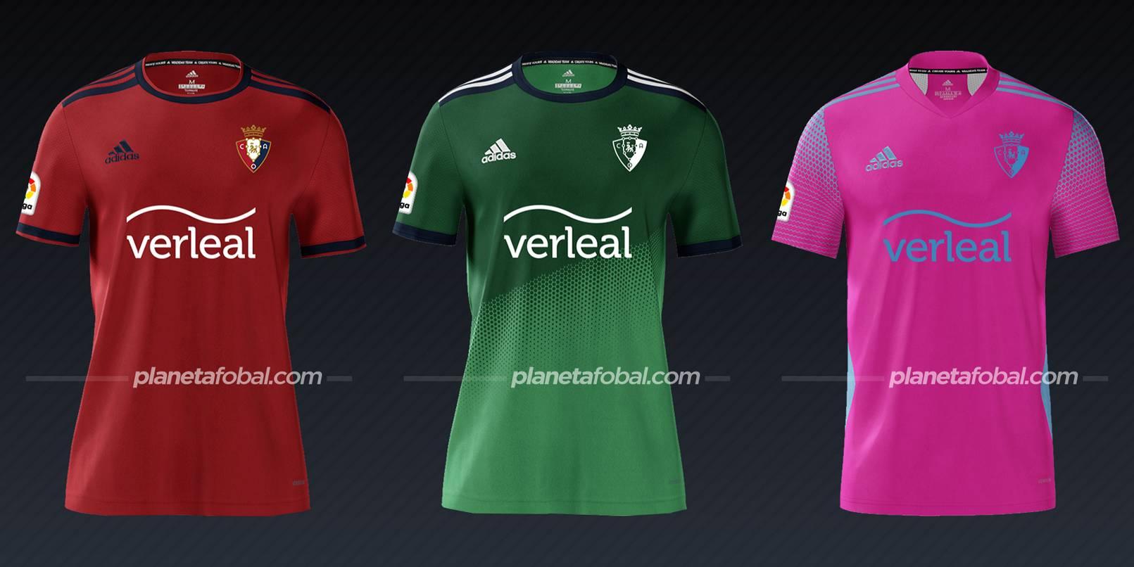 Osasuna (adidas)   Camisetas de LaLiga 2021/2022
