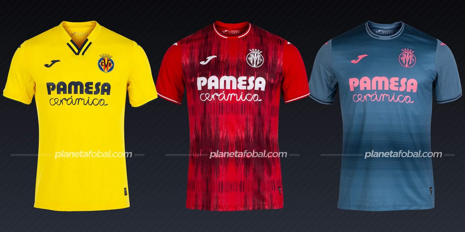 Villarreal (Joma)   Camisetas de LaLiga 2021/2022