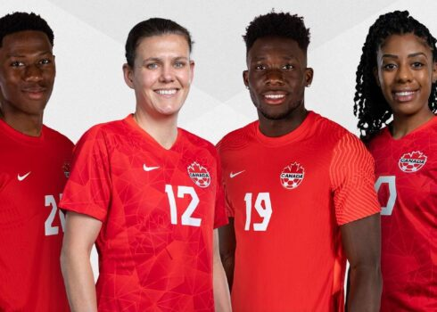 Camisetas Nike de Canadá 2021/2022