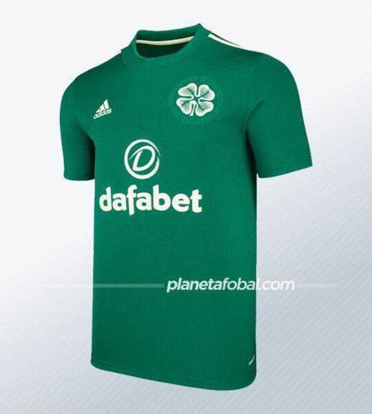 Camiseta suplente adidas del Celtic FC 2021/22 | Imagen Web Oficial