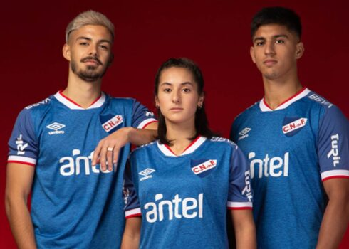 Tercera camiseta Umbro de Nacional 2021/22