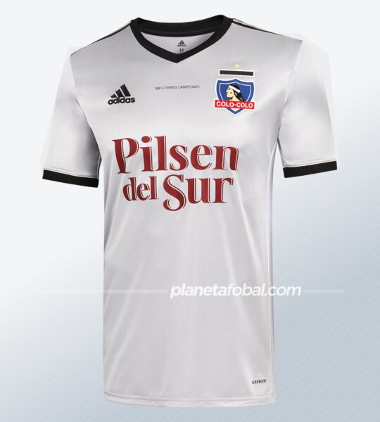 "Camiseta adidas del Colo-Colo ""30 Aniversario Libertadores 1991"""