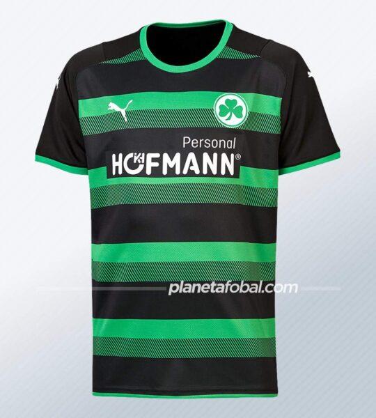 Camiseta suplente Puma del Greuther Fürth 2021/22