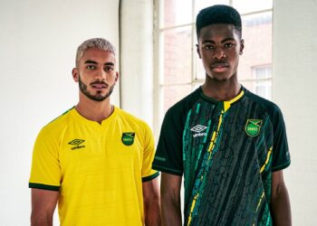 Camisetas Umbro de Jamaica 2021/2022