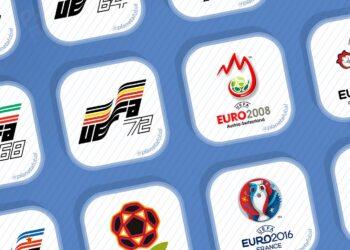 Logos de la UEFA Euro (1960-2020)