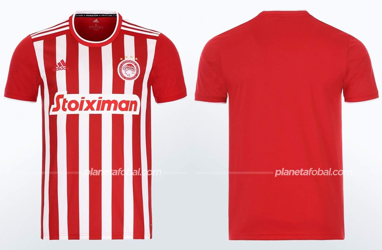 Camiseta titular adidas del Olympiacos 2021/22