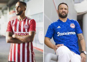 Camisetas adidas del Olympiacos 2021/2022