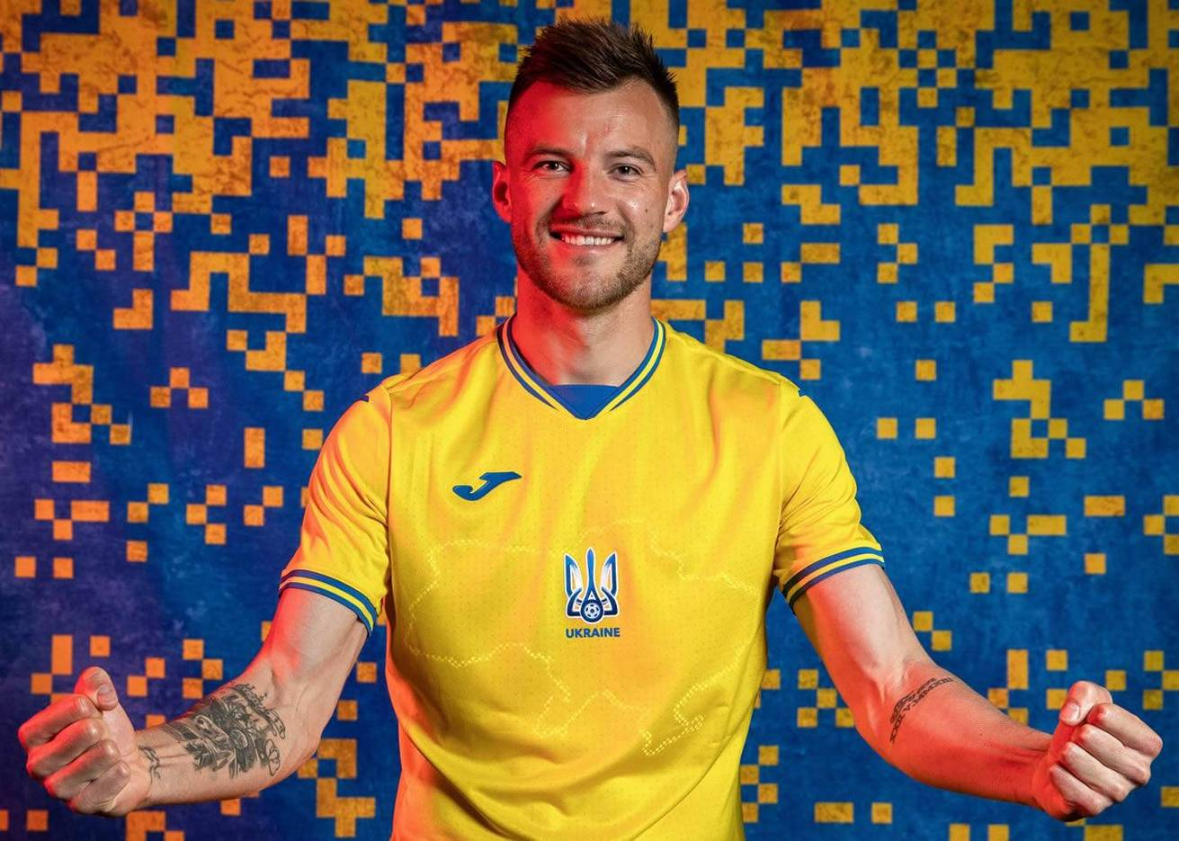 Camisetas Joma de Ucrania Euro 2020