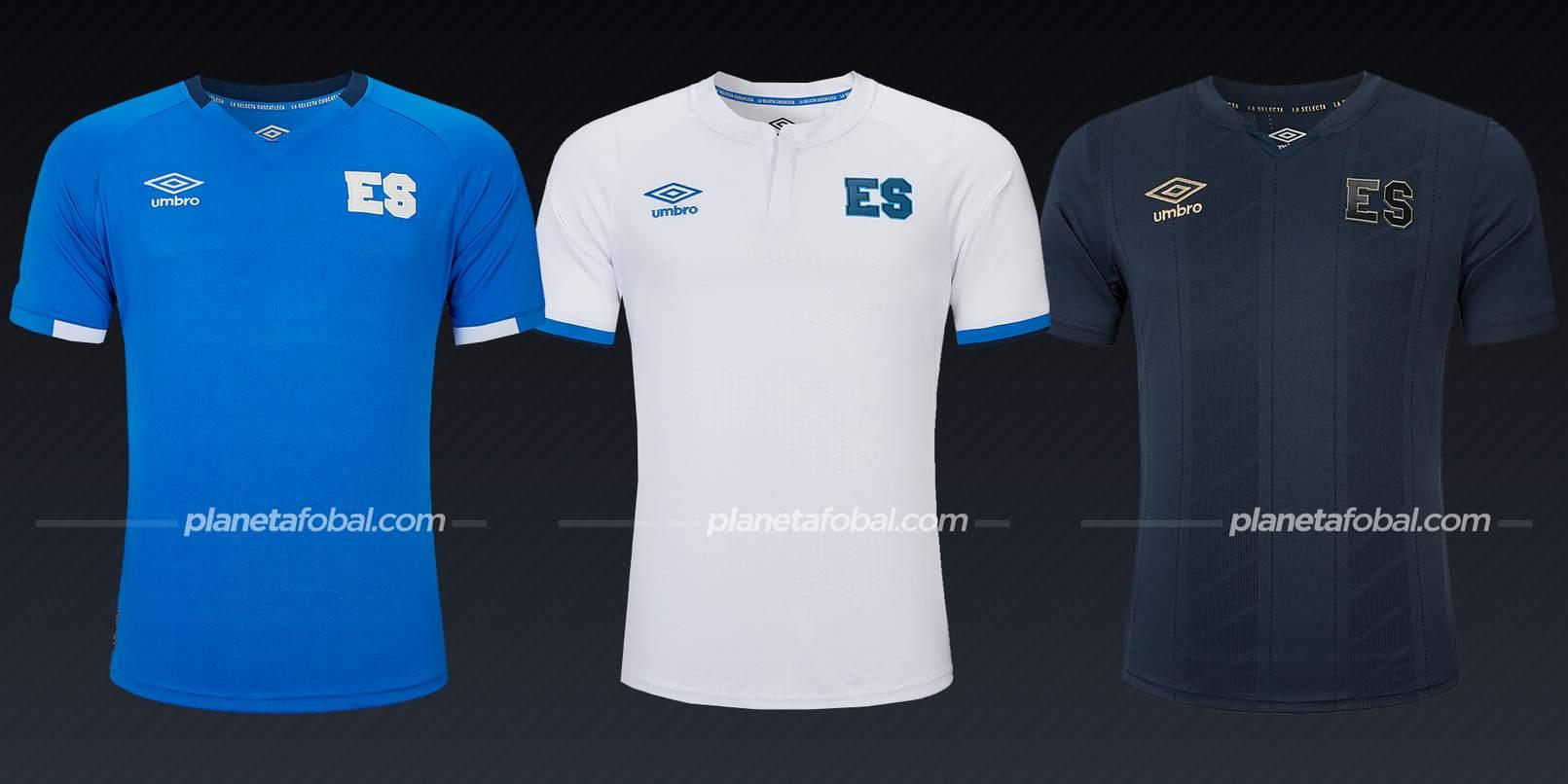 El Salvador (Umbro) | Camisetas de la Copa Oro 2021