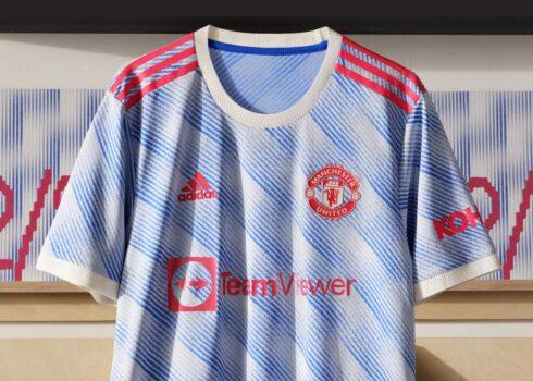 Camiseta suplente adidas del Manchester United 2021/2022
