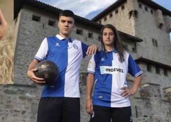 Camiseta Kelme del Deportivo Alavés 2021/2022