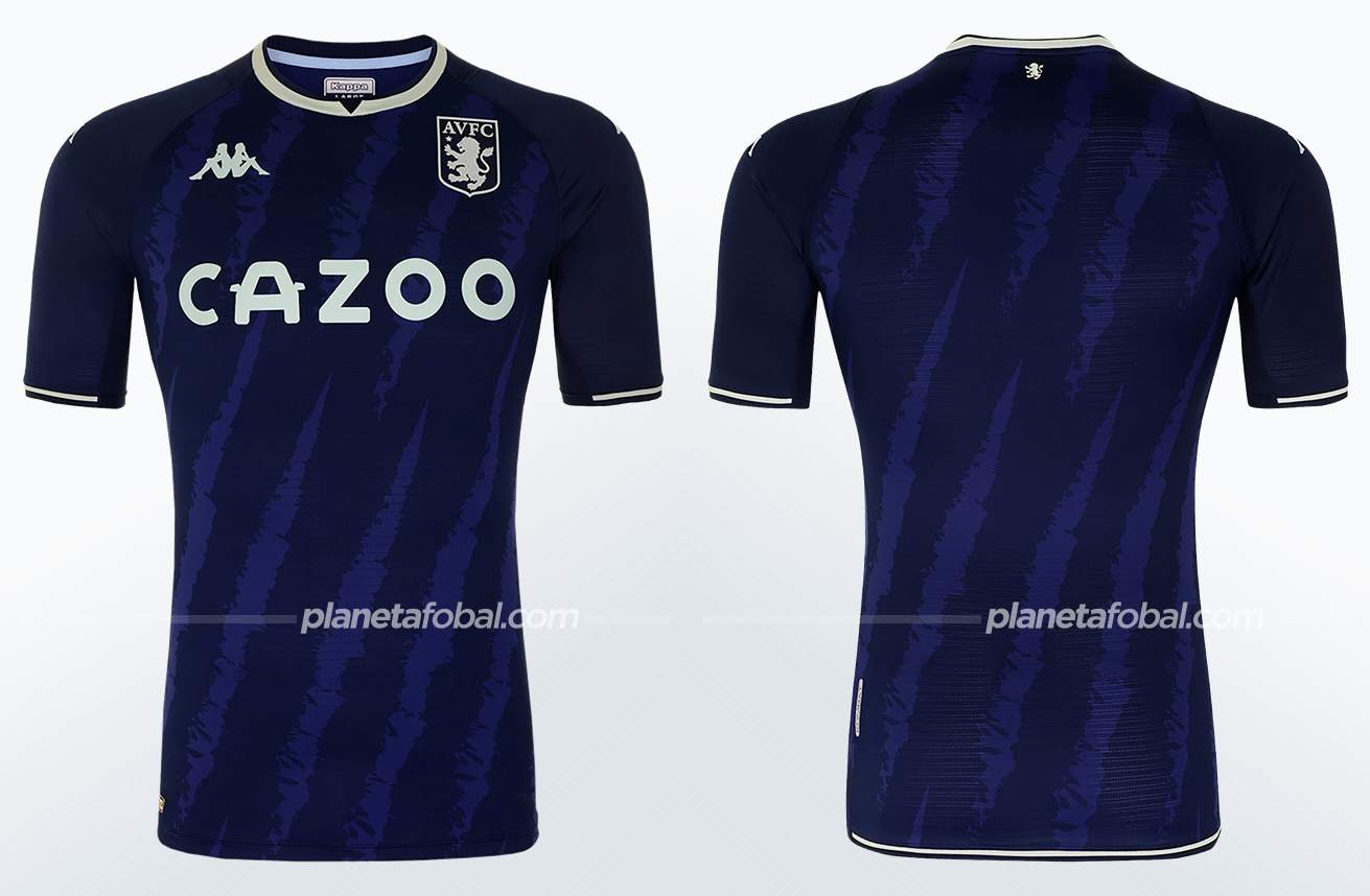 Tercera camiseta Kappa del Aston Villa 2021/22