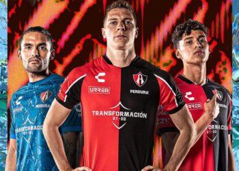 Camisetas Charly del Atlas FC 2021/22