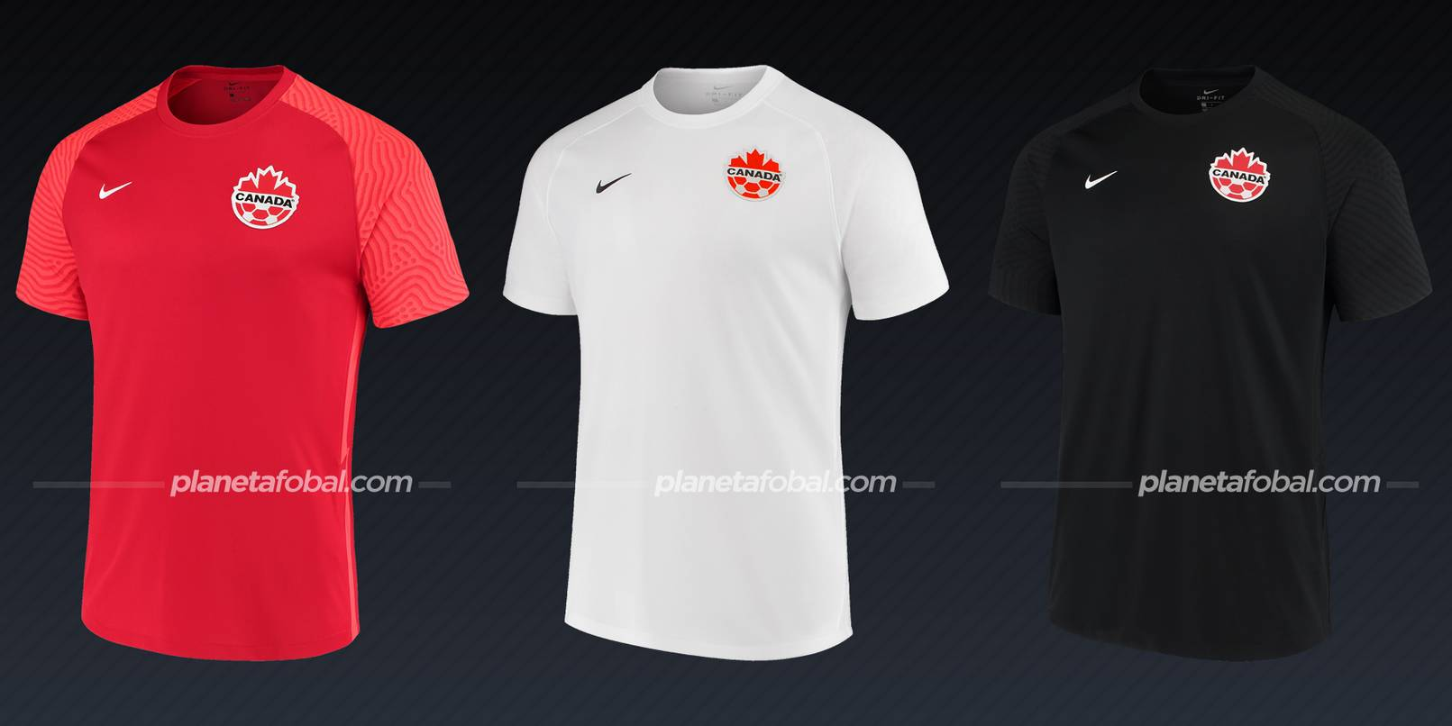 Canadá (Nike) | Camisetas de la Copa Oro 2021