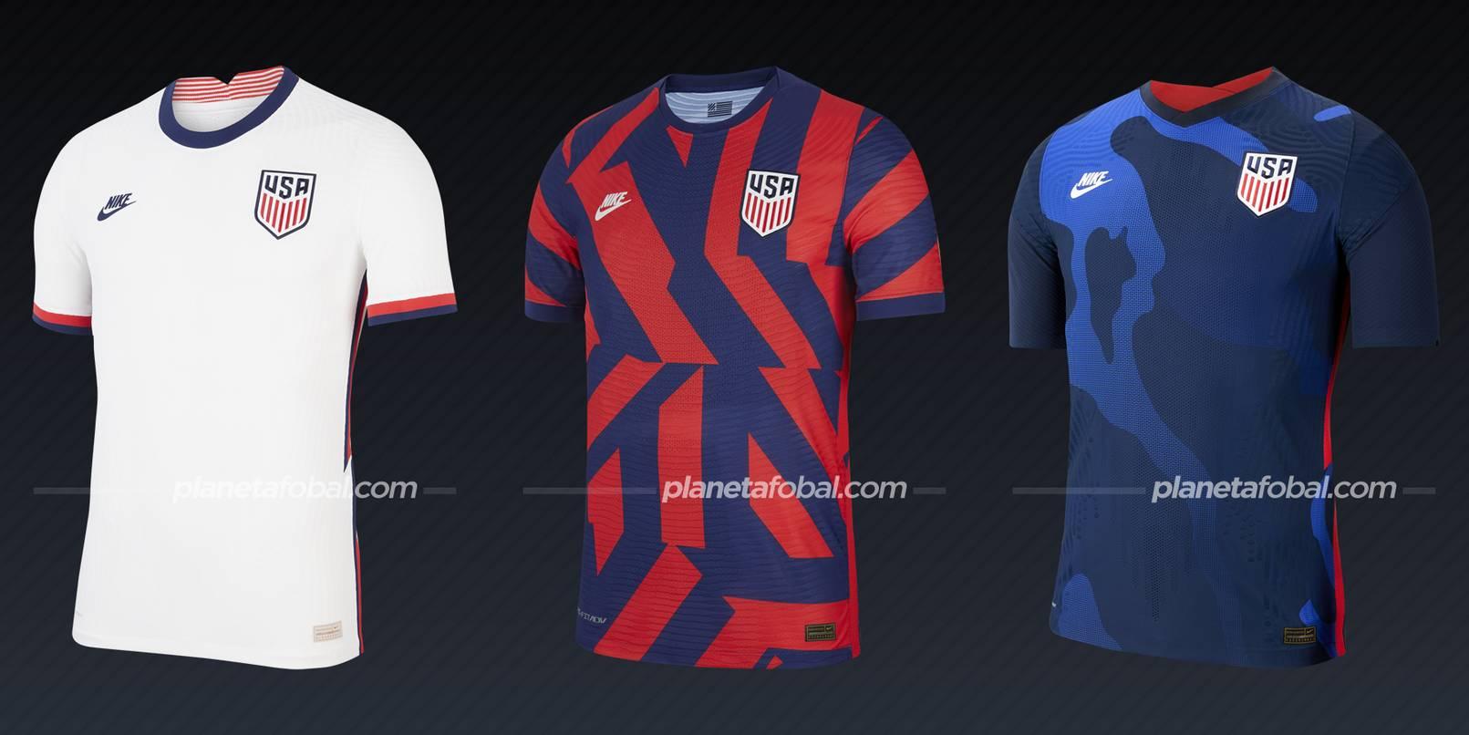 Estados Unidos (Nike) | Camisetas de la Copa Oro 2021