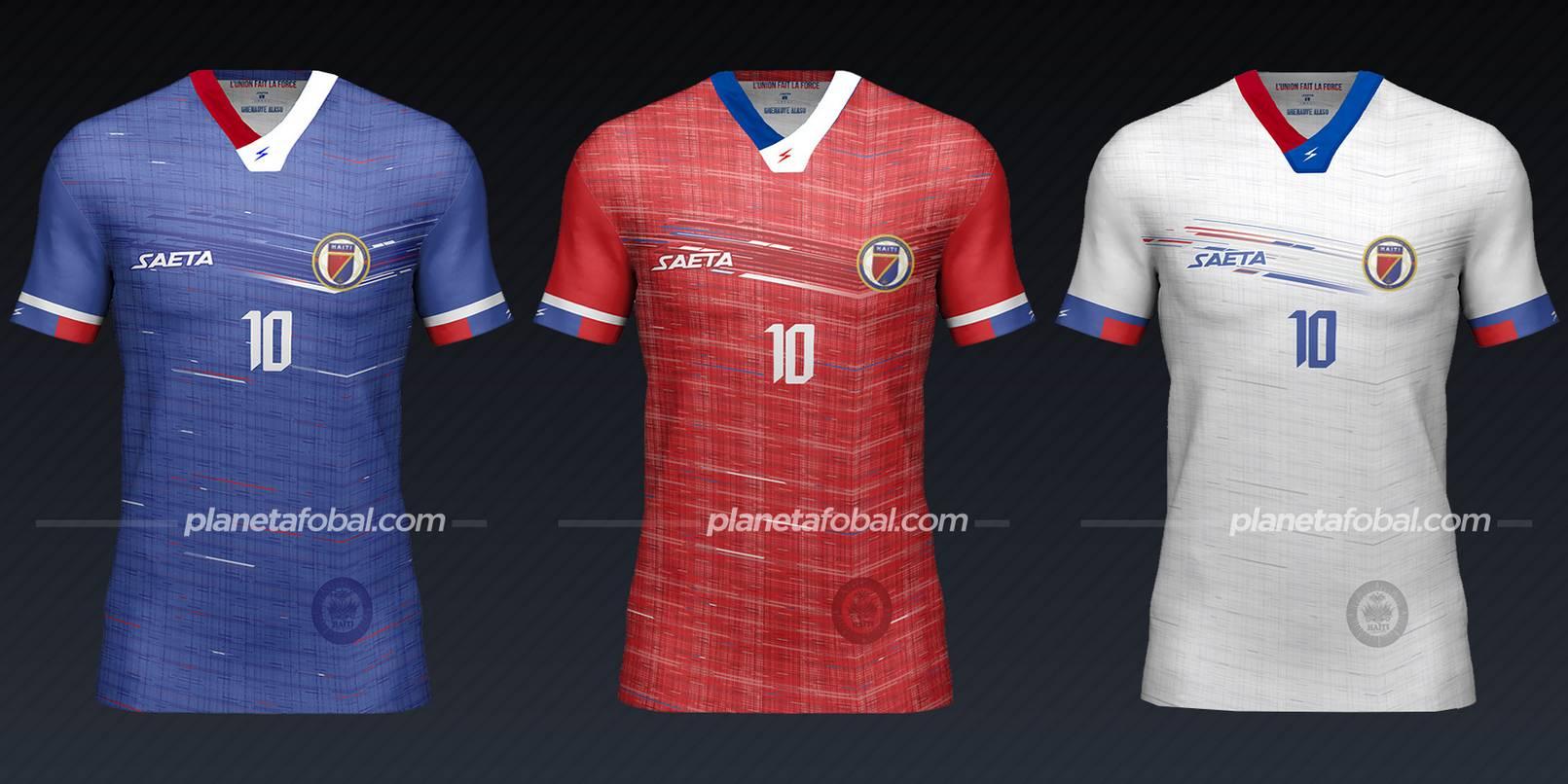 Haití (Saeta) | Camisetas de la Copa Oro 2021