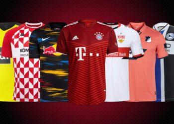 Camisetas de la Bundesliga 2021/22