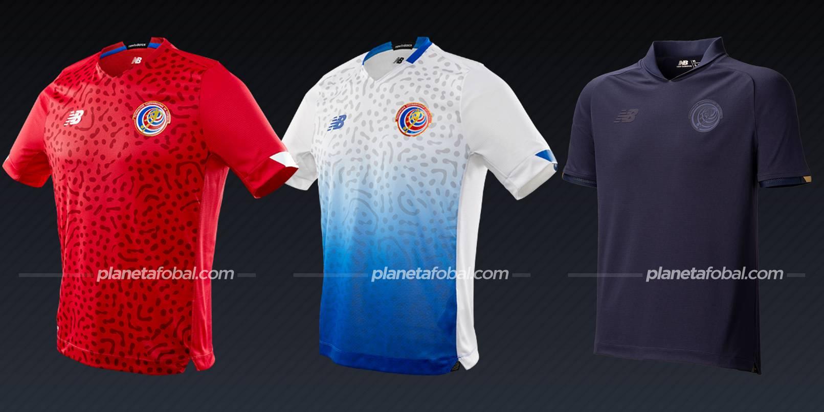 Costa Rica (New Balance) | Camisetas de la Copa Oro 2021