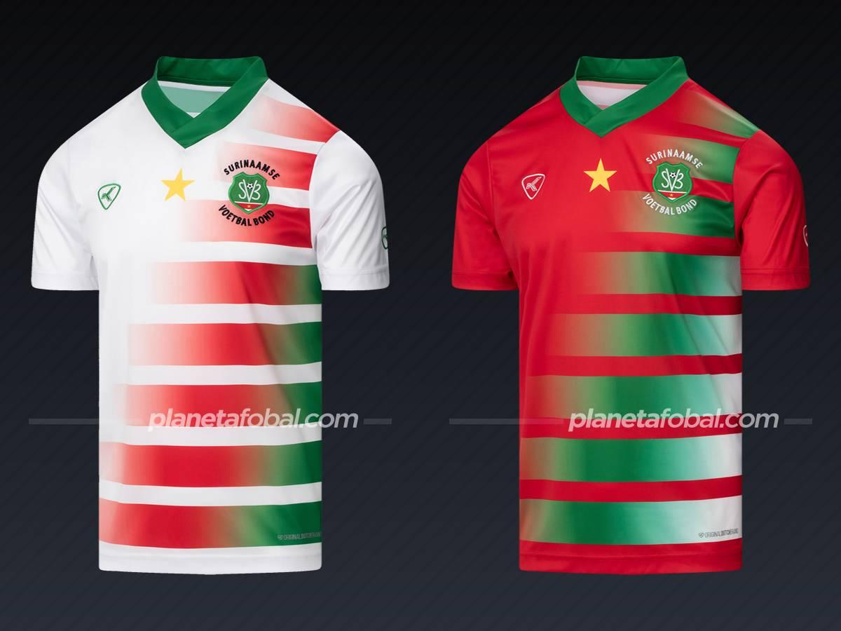 Surinam (Klupp) | Camisetas de la Copa Oro 2021
