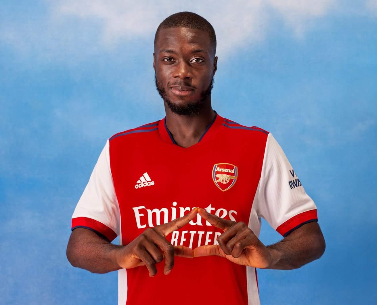 Camiseta adidas del Arsenal 2021/22