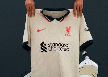 Camiseta suplente Nike del Liverpool 2021/2022