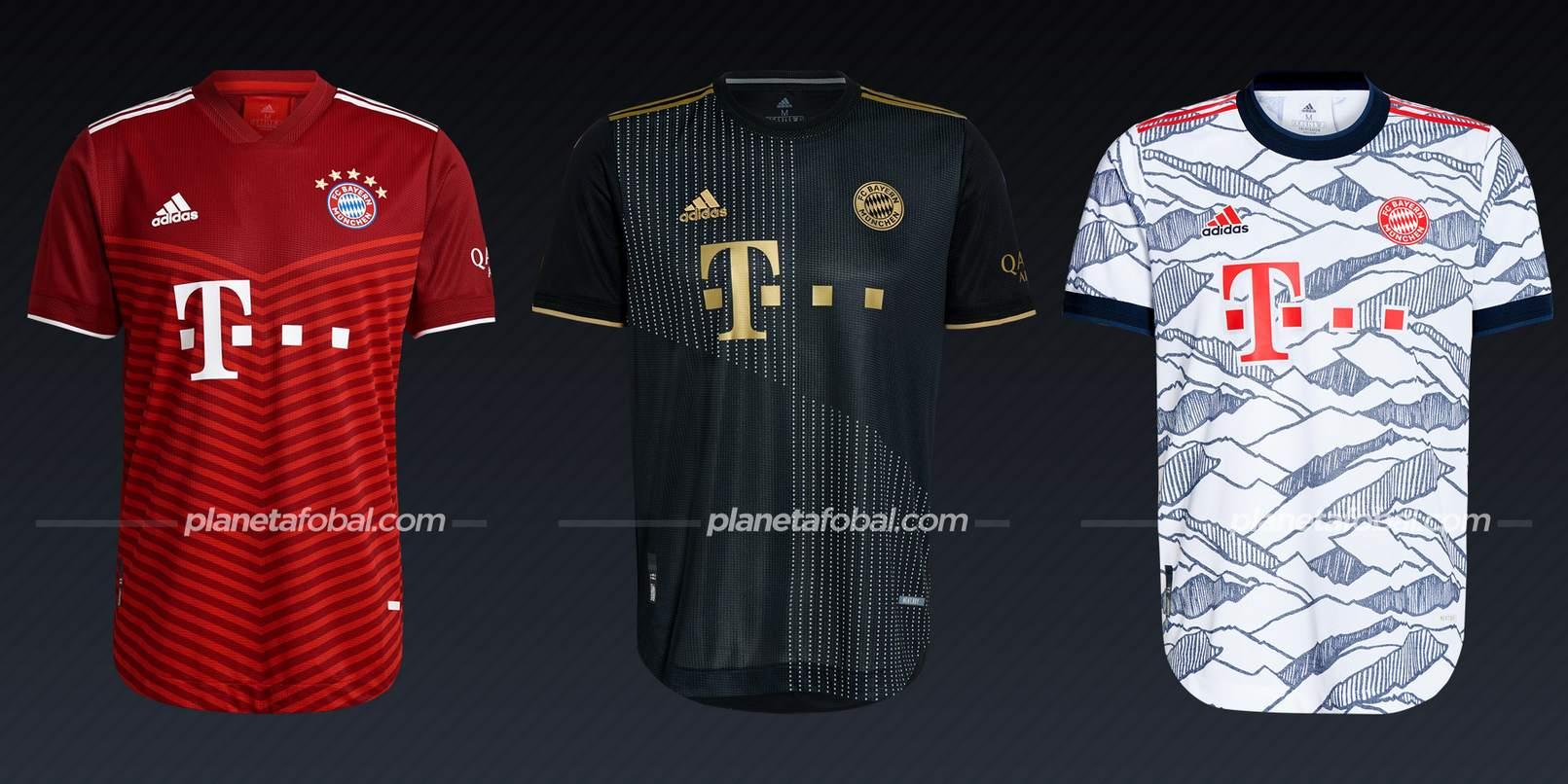 Bayern Múnich (adidas)   Camisetas Bundesliga 2021-22
