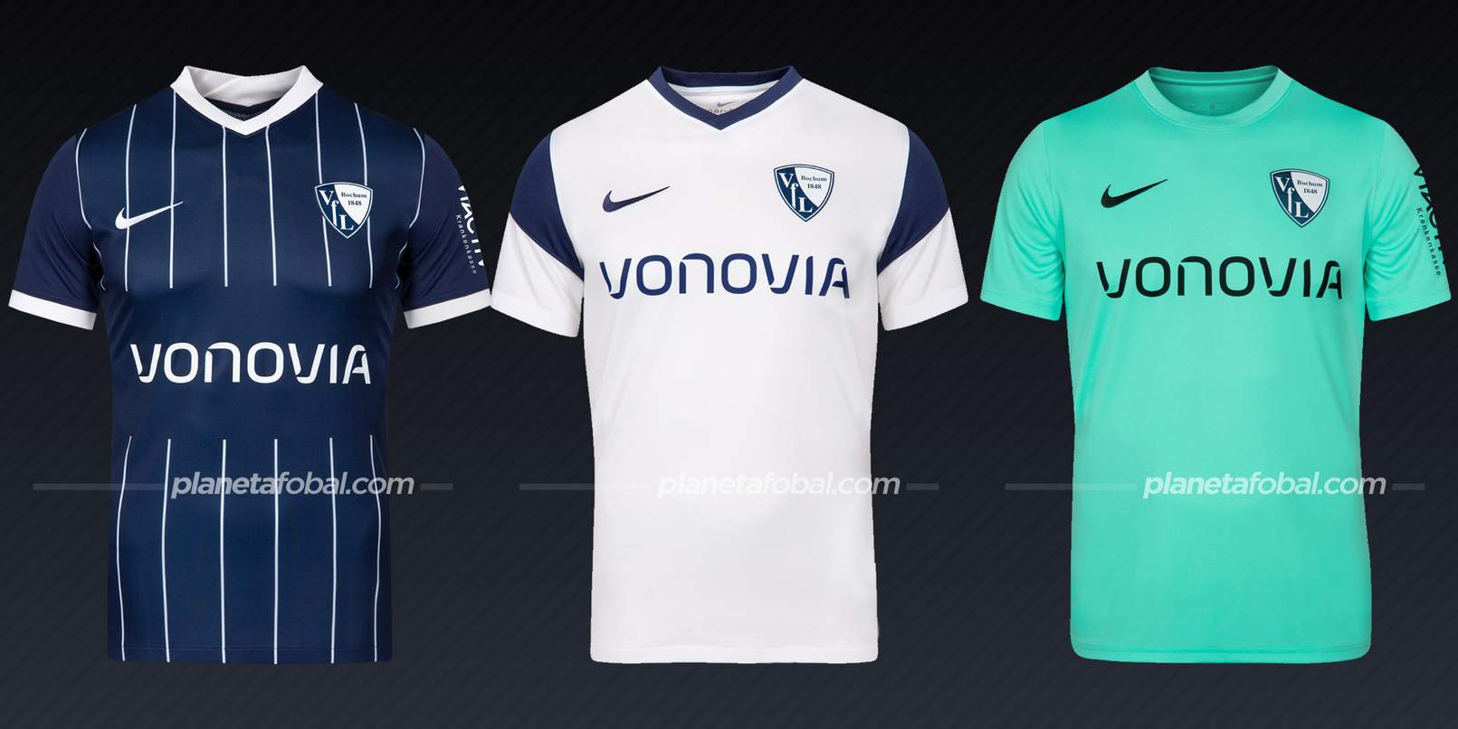 Bochum (Nike)   Camisetas Bundesliga 2021-22