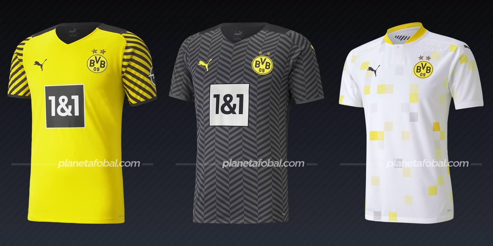 Borussia Dortmund (PUMA)   Camisetas Bundesliga 2021-22