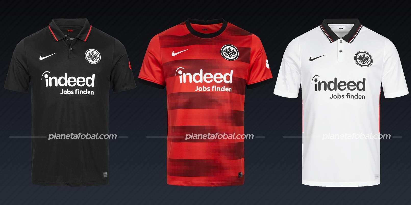 Eintracht Frankfurt (Nike)   Camisetas Bundesliga 2021-22