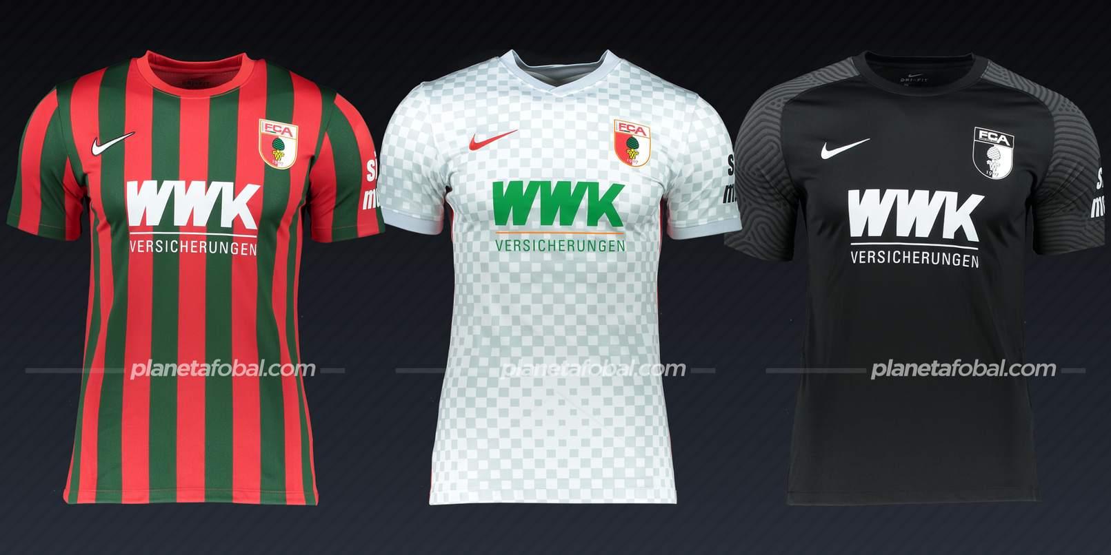 FC Augsburg (Nike)   Camisetas Bundesliga 2021-22