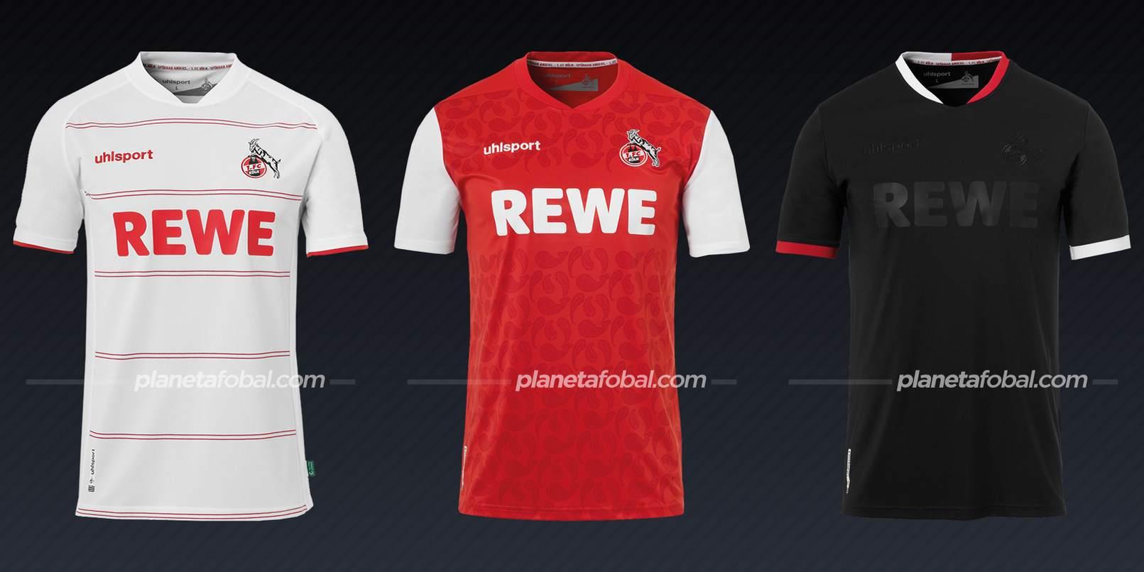FC Köln (uhlsport)   Camisetas de la Bundesliga 2021/22
