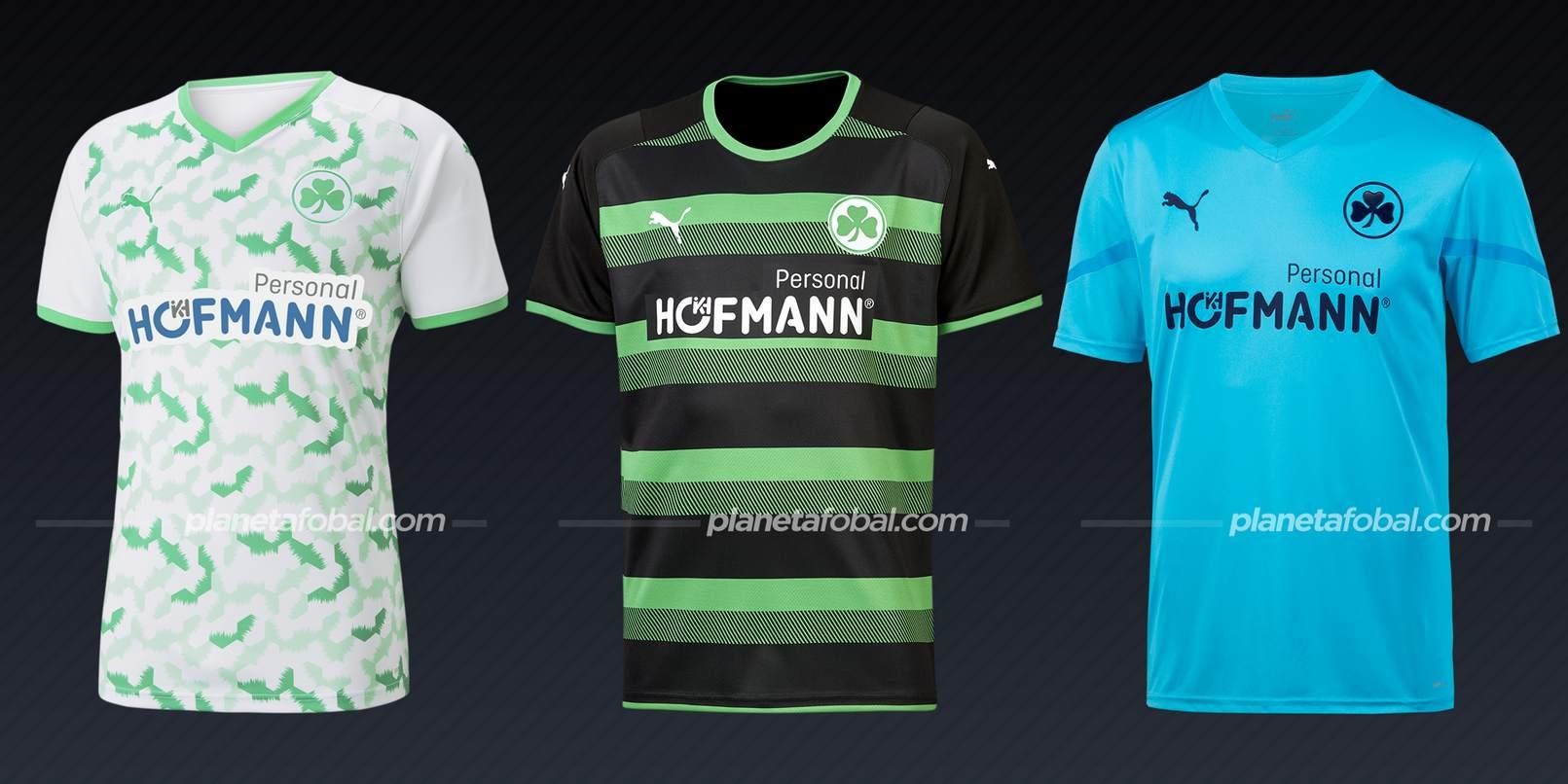 Greuther Fürth (PUMA)   Camisetas Bundesliga 2021-22