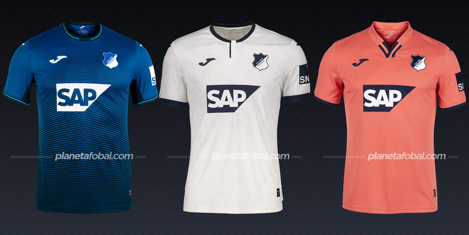 Hoffenheim (Joma)   Camisetas de la Bundesliga 2021/22