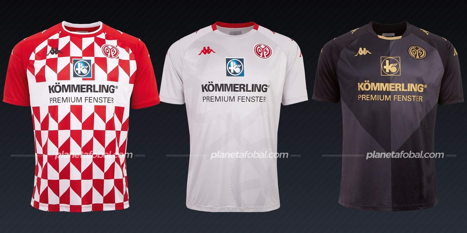Mainz 05 (Kappa)   Camisetas Bundesliga 2021-22