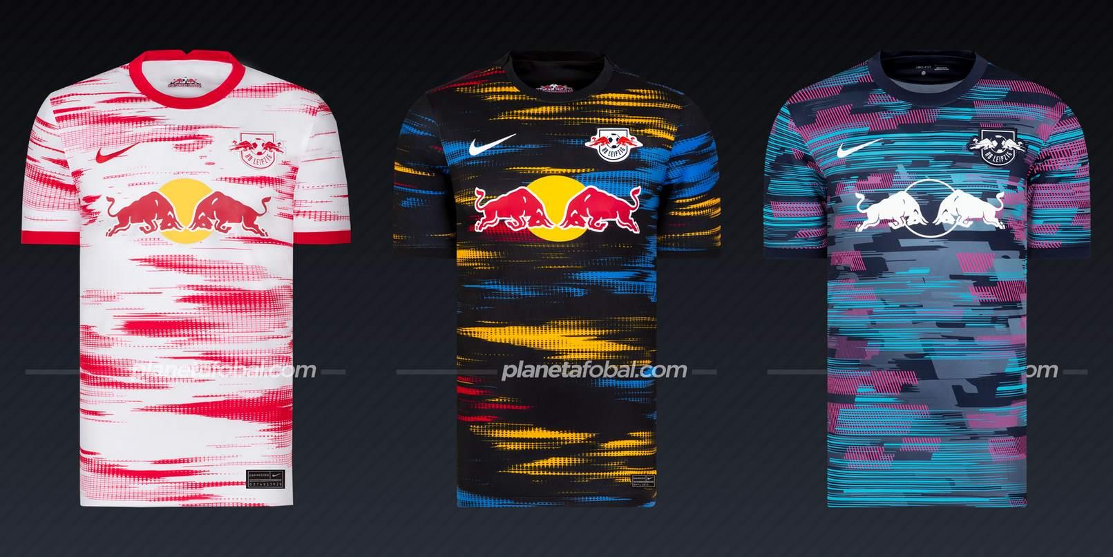 RB Leipzig (Nike)   Camisetas Bundesliga 2021-22