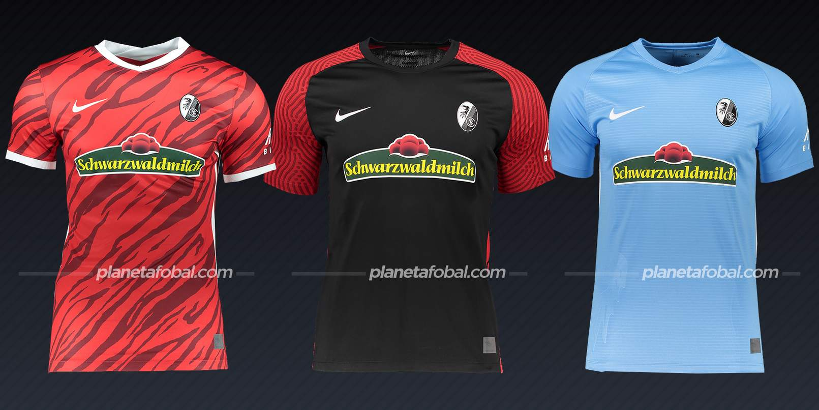 SC Freiburg (Nike)   Camisetas Bundesliga 2021-22