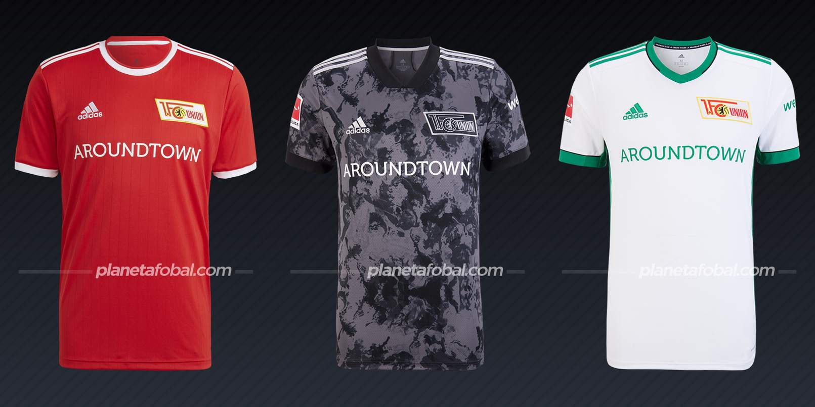 Unión Berlín (adidas)   Camisetas Bundesliga 2021-22