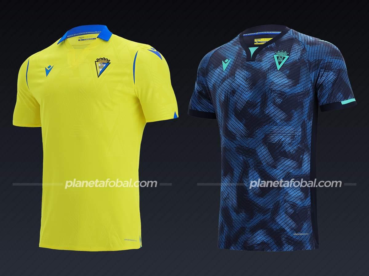 Cadiz (Macron)   Camisetas de LaLiga 2021/22