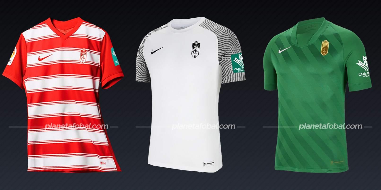 Granada (Nike)   Camisetas de LaLiga 2021/22