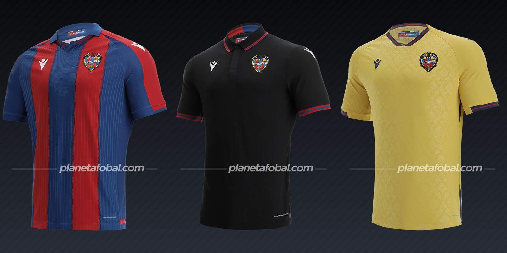 Levante (Macron)   Camisetas de LaLiga 2021/22