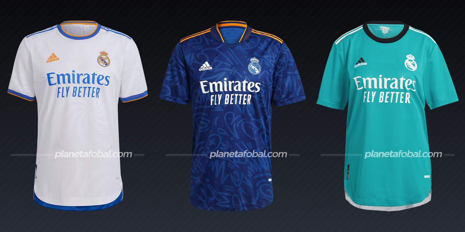 Real Madrid (adidas)   Camisetas de LaLiga 2021/22